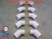 "10x Hot Tub Spa 45 1 1/2"" Street Slip Plumbing ELL PVC Fitting How To Video"