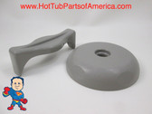 Saratoga Roto Stream Diverter Cap & Knob Gray Spa Hot Tub How To Video