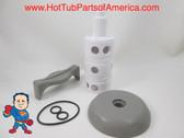 Saratoga Roto Stream Diverter Cap, Knob & Rotor Kit Spa Hot Tub How To Video