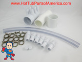 "Manifold Hot Tub Spa 2""spg x Dead End x (6)3/4"" Coupler Kit Video How To"
