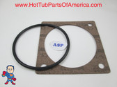 "Gasket & O-Ring for 5"" Flange Heater Hot Tub Spa Part Brett Aqualine Vita"