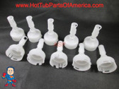 """10 Pentair Spa Jet Diffusers Cyclone Micro 2.95""""-3.25"""" Hot Tub Video How To"""