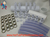 "RENU Manifold Hot Tub Spa Old To New Style 2""spg x (10)3/4"" Coupler Kit Video How To"