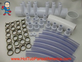 """RENU Manifold Hot Tub Spa Old To New Style 2""""spg x (12)3/4"""" Coupler Kit Video How To"""