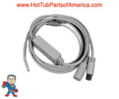 "LED Light Dual Strand, Sloan, (2) Led Lights, 50""Cable"