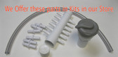 "Air Manifold 12 & Control Valve Kit Gray 1"" Spa Hot Tub Universal"