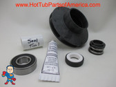 "Impeller & Seal (1) Bearing Kit Aqua-Flo XP2 1.5 HP 2 1/8"" Eye with 5/16"" Vane Width 4"" OD"