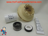 "Impeller & Seal Kit LX Guangdong 48 frame 1HP 2 3/8"" Eye Vane Width 1/4"" 3 3/4"" OD How To Video"