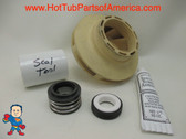 "Impeller & Seal Kit LX Guangdong 48 frame 1.5HP 2 3/8"" Eye Vane Width 5/16"" 4"" OD How To Video"