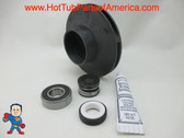 "Impeller & Seal (1) Bearing Kit Aqua-Flo XP2 1.5 HP 2 1/8"" Eye with 1/4"" Vane Width 4 3/8"" OD"