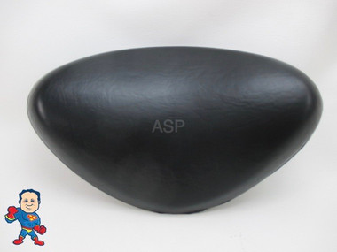 "Spa Hot Tub Black Tri-Curve Pillow (2) Tab Fits Some Four Winds Spas & Others   Black Tri-Curve 9"" wide x 6"" Tall (2) Tabs that are about 6"" center to center"