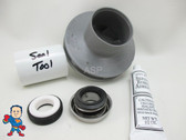 Impeller & Seal Kit, Waterway, HiFlo, Side Discharge, 1.0hp Hi-Flo, Hi Flo