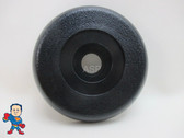 "Dynasty Black 1"" Waterfall or Neck Jet Diverter Valve Cap Spa Hot Tub Measures  3 11/16"""