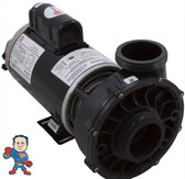 """Pump, Waterway Viper, 5.0hp, 230v, 2-spd, 56fr, 2-1/2"""" x 2-1/2"""""""", OEM The measurement from the edge of the thread to the edge of the thread on the Suction and Pressure side is 3 11/16"""".."""