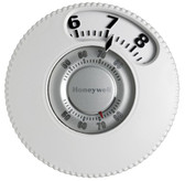 Honeywell T87N1026 1H/1C Round Non Prog Thermostat