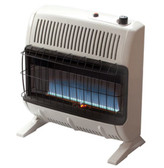 Mr. Heater Hstar 30,000 BTU LP Vent Free Blue Flame Heater w/Blower and T-Stat