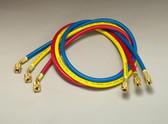 "Yellow Jacket 21985 PLUS II 1/4"" Charging Hoses Set 60"""