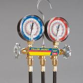 "Yellow Jacket 42054 Heat Pump Manifold Set- 60"" Hoses- R-410A"