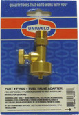Acetylene Regulator to Propane Tank Adapter Uniweld FV600