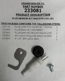 Crown 233081 Flue Sensor Kit BWC 070-120,151