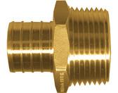 """(50) 3/8"""" PEX x 1/2"""" MPT Brass Male Adapter"""