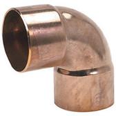 """(25) W2034 7/8"""" ACR OD Copper Fitting 90° Elbow CxC"""