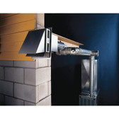 """Tjernlund GPAK-JT Gas Heater Side Wall 4"""" Vent System for Gas Furnaces"""