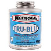 RectorSeal 31431 Tru-Blu Pipe Thread Sealant Pint NSF ANSI Vibration Resistant