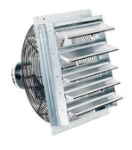 "FanTech 2SHE0721 7"" Shutter Mounted Exhaust Fan"