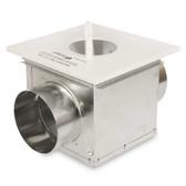 Fantech DBLT4W Dryer Booster Lint Trap-WHITE DBF110