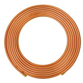 3/8 OD x 50 ft Refrigeration Soft Copper Tubing