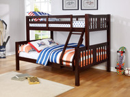 ASHMORE TWIN/FULL BUNKBED 220320