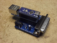 Amiga Plipbox Parallel Port Ethernet adapter