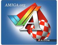 AmigaOS Mouse Mat. (Support  Amiga.org)