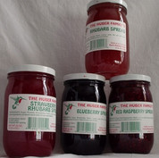 Red Raspberry Spread, 10 or 20 oz.