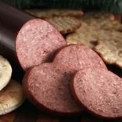 Honey Smoked Bison Summer Sausage