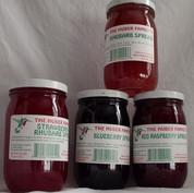 Strawberry/Rhubarb Spread, 10 or 20 oz.