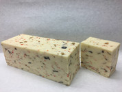 White Cheddar Cheese with Black and Green Olives