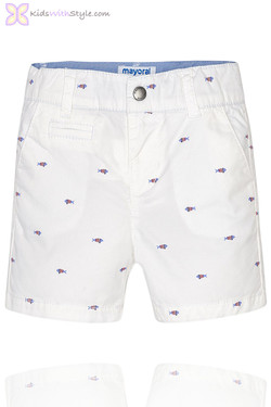 Baby Boy Nautical Fish Shorts