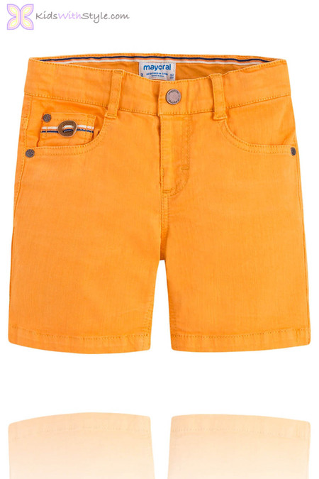 Boys Smart Chino Shorts in Yellow
