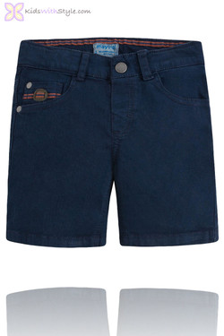 Boys Smart Chino Shorts in Navy