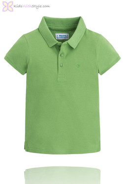 Classic Green Short Sleeve Polo Shirt