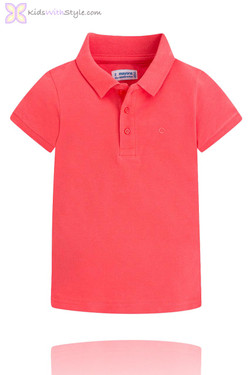 Classic Red Short Sleeve Polo Shirt
