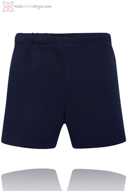 Baby Boy Classic Summer Shorts in Navy