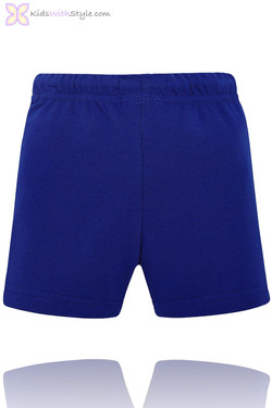 Baby Boy Classic Summer Shorts in Blue