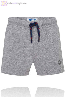 Baby Boy Classic Summer Shorts in Grey