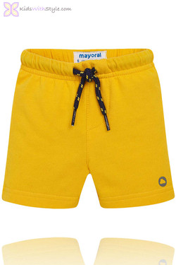 Baby Boy Classic Summer Shorts in Yellow