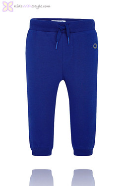 Baby Boy Classic Jogger Pants in Blue