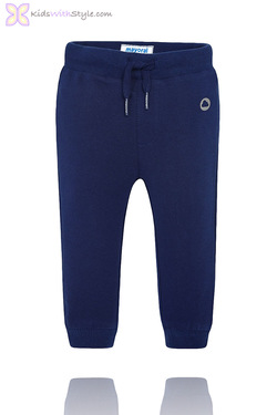 Baby Boy Classic Jogger Pants in Navy
