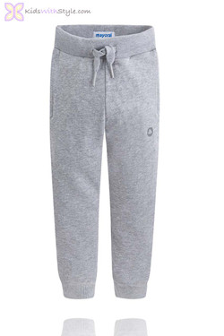 Boys Classic Jogger Pants in Grey